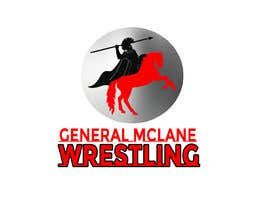 #21 for General McLane wrestling logo by Roybipul