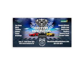 #21 for design an outdoor banner for motor madness af Rajib1688