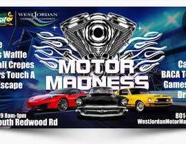 #13 for design an outdoor banner for motor madness af becretive