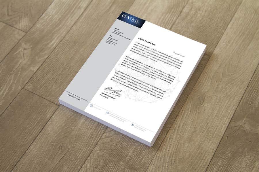 Proposition n°77 du concours Create a Letterhead