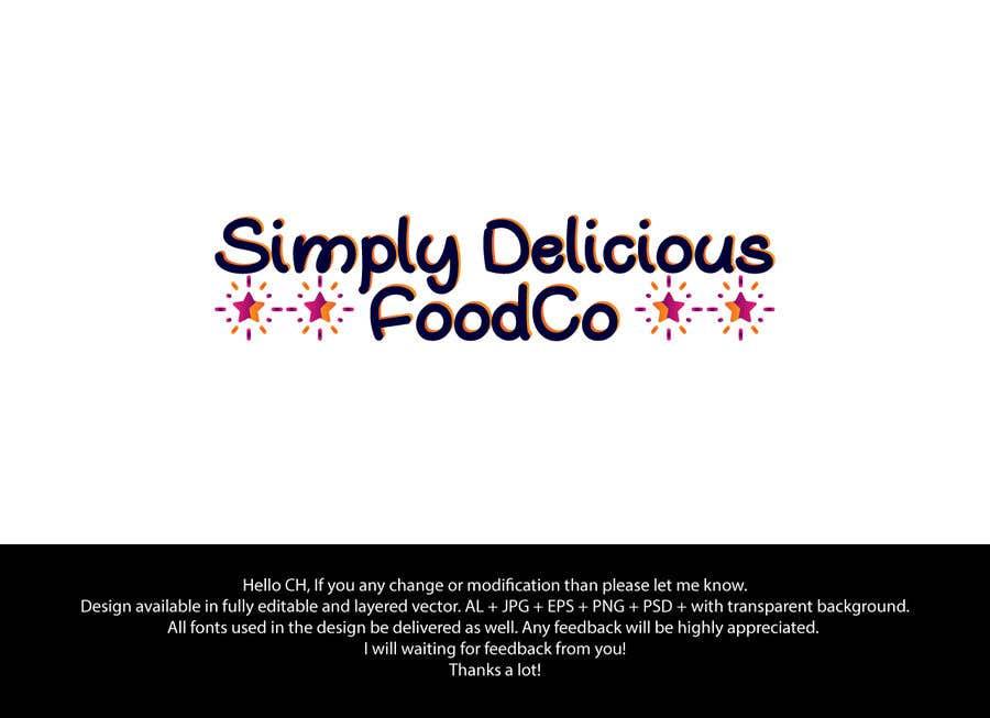 Kilpailutyö #10 kilpailussa Simply Delicious FoodCo