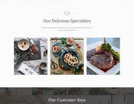 #47 untuk Restaurant Website Design oleh devboysteam