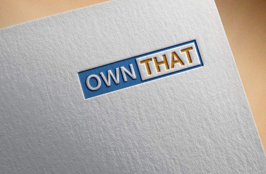 Конкурсная заявка №97 для Create a logo for on-line business www.OwnThat.com. Creative ideas wanted!