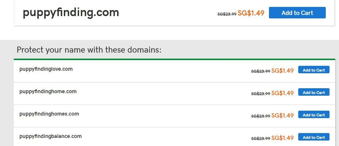 Contest Entry #109 for looking for Avaialble domain names