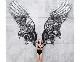 #51 for ILLUSTRATION: WALL MURAL OF WINGS by syunm06