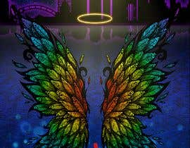 #52 for ILLUSTRATION: WALL MURAL OF WINGS by unreal0044