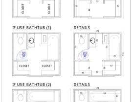 #35 for Design a bathroom Layout/ rendering af tanjiraumee