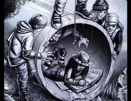#8 para children's book illustrator de DorianLudewig