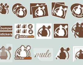 #53 for Design Simple Sticker Image like stickermule by humayonkabir1