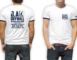 #14 untuk T shirt for a DRY WALL COMPANY oleh AshrafAliKhan007