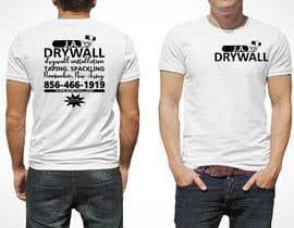 #16 untuk T shirt for a DRY WALL COMPANY oleh voltes098