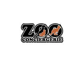 "#52 для logo for a project. It is a Pet/Zoo Store called ""Zoo Conciergerie"" от anubegum"