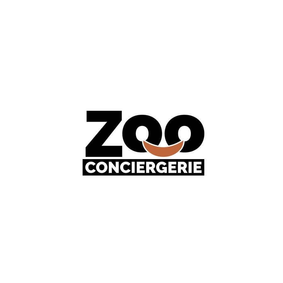 "Penyertaan Peraduan #54 untuk logo for a project. It is a Pet/Zoo Store called ""Zoo Conciergerie"""