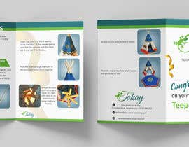 #14 para Design simple product assembly instructions layout, thank you card and product packaging. por aatir2