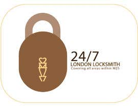 Nro 21 kilpailuun I need a logo for a Locksmith käyttäjältä daniyalahmed01