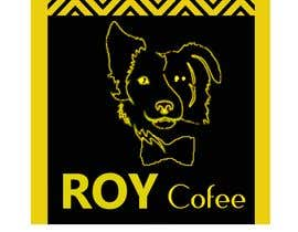 #18 for I have planed to open a 3rd generation coffee shop. It's name will be Roy Coffee and I have a dog, it's name Roy and It have colors black and yellow. that's why I want to that my logo have to a simple dog and it's color have to black and yellow. by ajith68