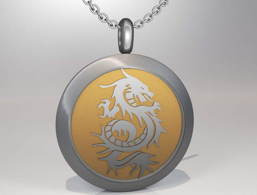 Inscrição nº 22 do Concurso para Stainless Steel Jewelry Designs - Dragon Oil Diffuser Locket