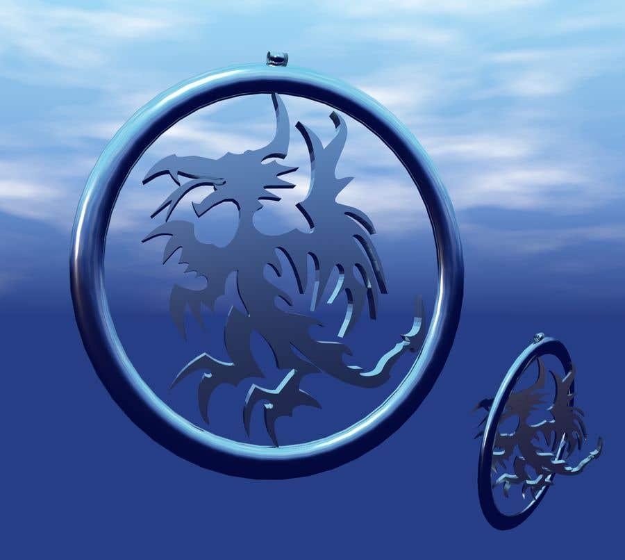 Inscrição nº 35 do Concurso para Stainless Steel Jewelry Designs - Dragon Oil Diffuser Locket