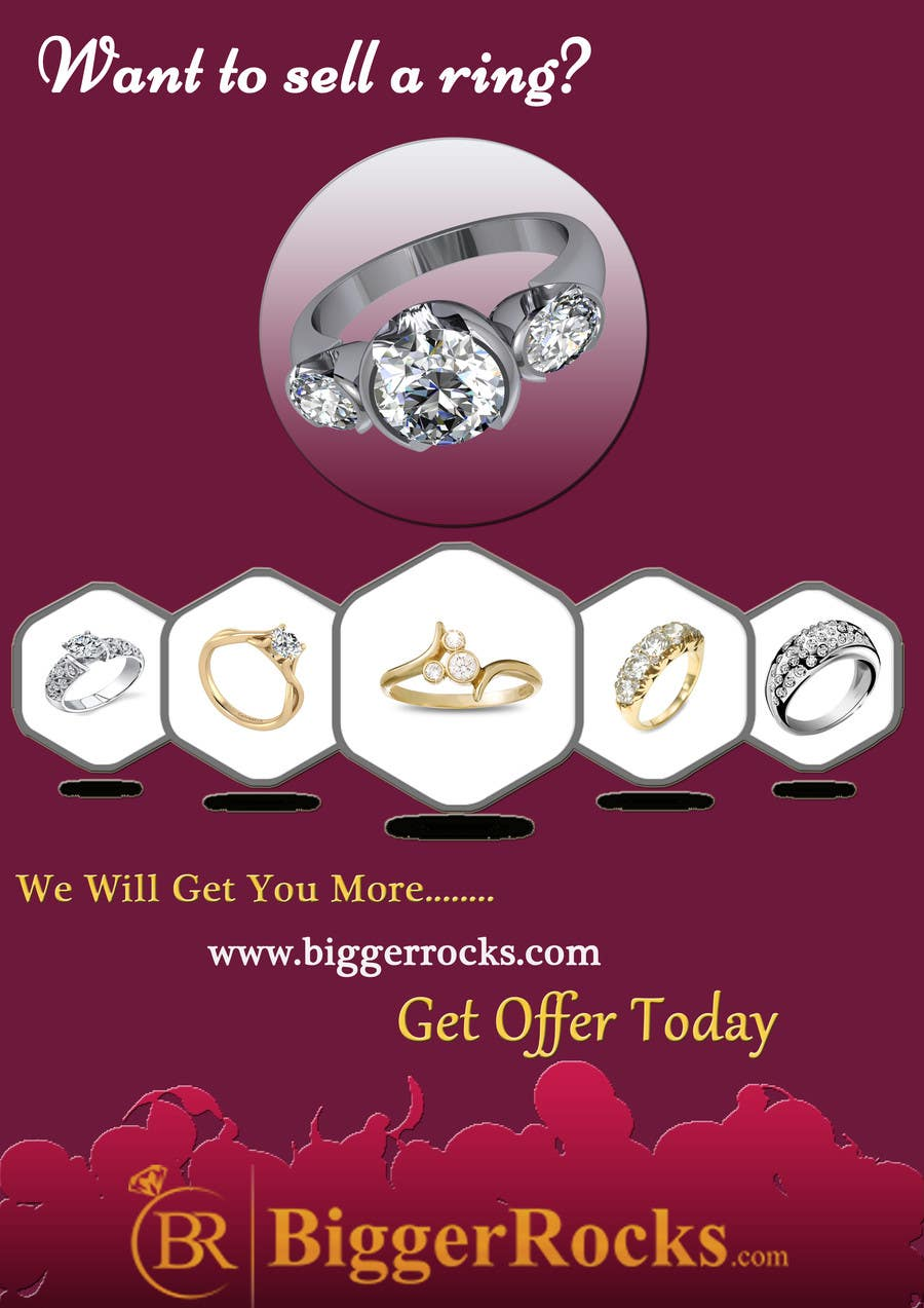 entry 25 by rginfosystems for design a flyer for selling a ring
