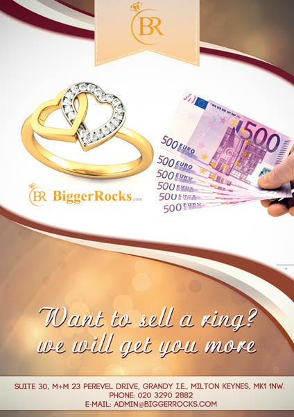 entry 59 by jorikrosa for design a flyer for selling a ring
