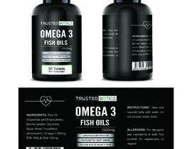 Nro 14 kilpailuun Design label for vitamins bottle käyttäjältä designeremrul