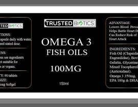 Nro 1 kilpailuun Design label for vitamins bottle käyttäjältä rokibuldesign