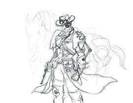 #11 for Steampunk cowboy art work graphical artwork af tariqtoufiq
