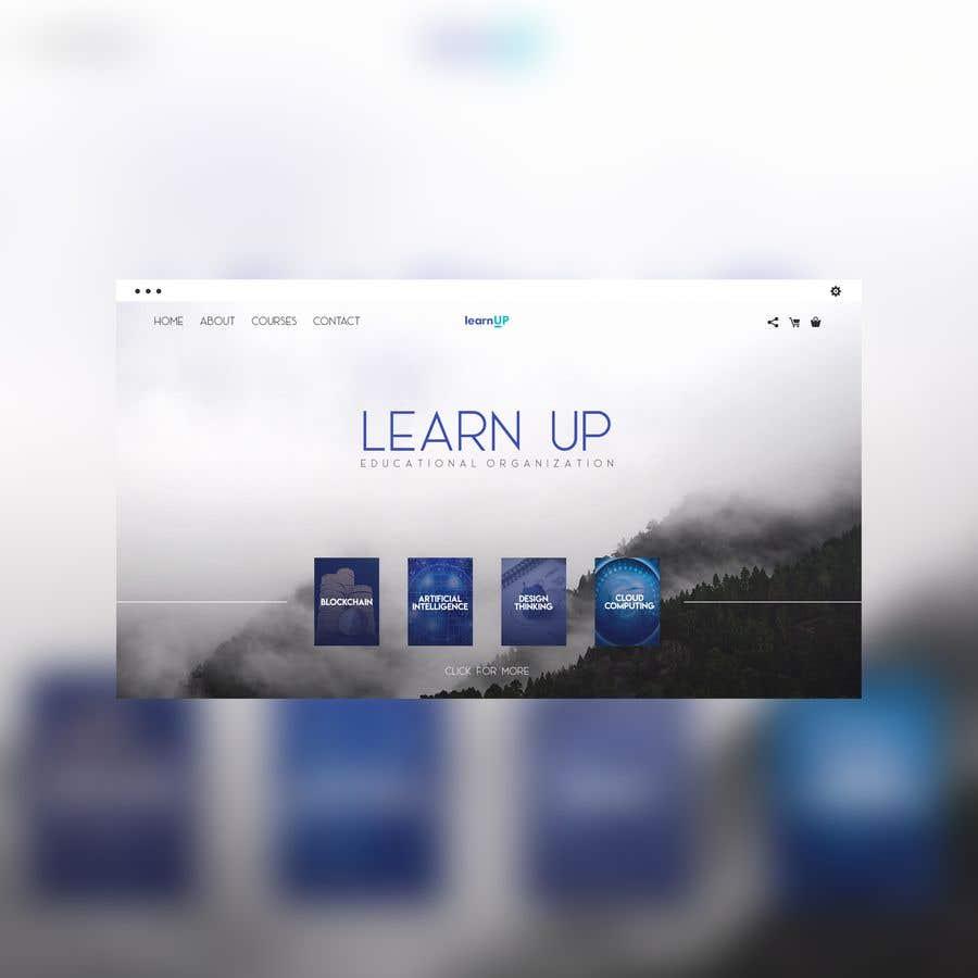 Penyertaan Peraduan #2 untuk Educational organization needs a website design