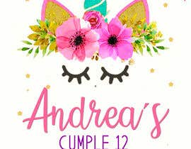 Nro 22 kilpailuun ANDREA´S #12 BIRTHDAY käyttäjältä marianayepez