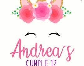 Nro 25 kilpailuun ANDREA´S #12 BIRTHDAY käyttäjältä marianayepez
