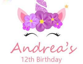 #30 untuk ANDREA´S #12 BIRTHDAY oleh kurubyo