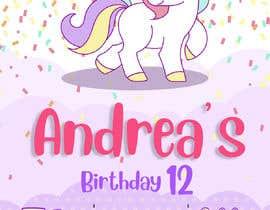 #27 untuk ANDREA´S #12 BIRTHDAY oleh KOPASJATdedy
