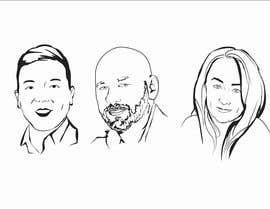 #31 para Sketches of head shots for website por djamolidin