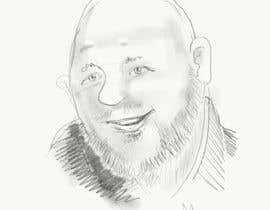 #35 para Sketches of head shots for website por anjeykos