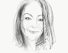 #37 para Sketches of head shots for website por anjeykos