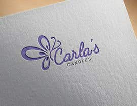 "Nahin29 tarafından Design a logo for ""Carla's Candles""' için no 110"