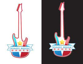 #10 for Logo Design for Pinoy Rock Games af r7ha