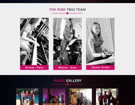 bappa85 tarafından Update young female jazz band website (pinktrio.com) to look more professional için no 28