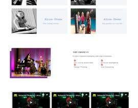 poroshsua080 tarafından Update young female jazz band website (pinktrio.com) to look more professional için no 5