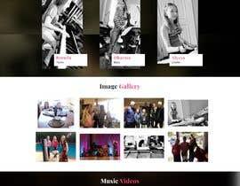 ParimalDesigns tarafından Update young female jazz band website (pinktrio.com) to look more professional için no 20