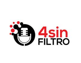 "#38 для A logo for Radio Show/Program ""4 sin filtro"" от alamin216443"
