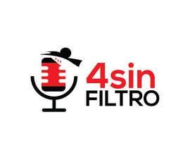 "#41 cho A logo for Radio Show/Program ""4 sin filtro"" bởi alamin216443"