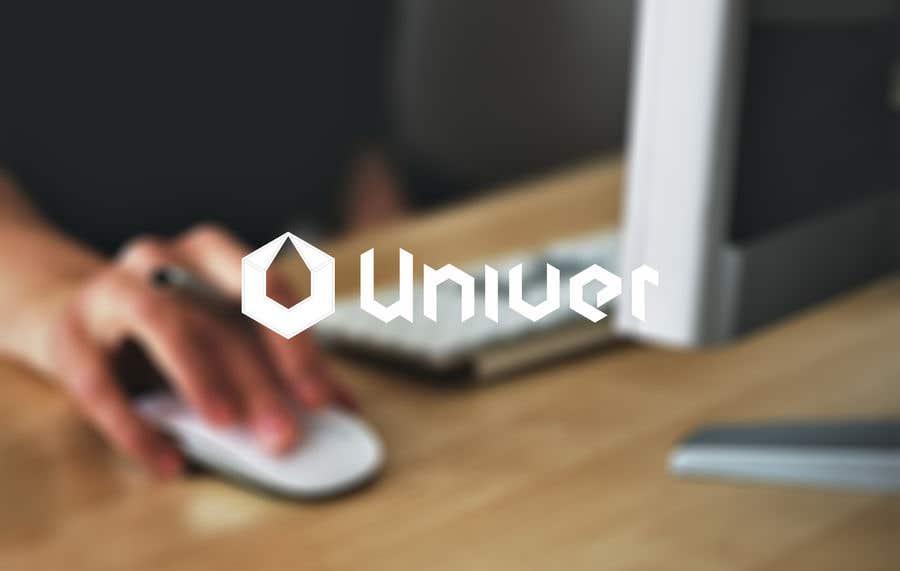 Bài tham dự cuộc thi #215 cho Univer logo