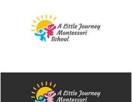 "#37 untuk ""A Little Journey Montessori School"" Logo oleh Fittiani"