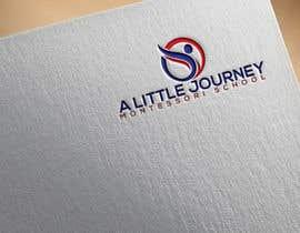 "#32 untuk ""A Little Journey Montessori School"" Logo oleh mondalrume0"