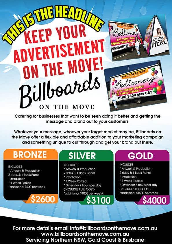 Kilpailutyö #1 kilpailussa Billboards on the Move