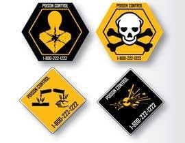 Nro 48 kilpailuun Product Safety Stickers käyttäjältä skinnudity