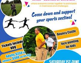 Nro 15 kilpailuun Make a Sports Day Poster - A4 Size käyttäjältä maidang34