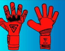 Nro 3 kilpailuun I need this goalkeeper glove template coloured in.  Ideally, I'd like to have 5 different coloured options. Dot be afraid to be creative käyttäjältä nazmulhasan01