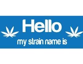 "nº 3 pour Designer a ""hello my strain name is"" sticker par nurulmdraj"